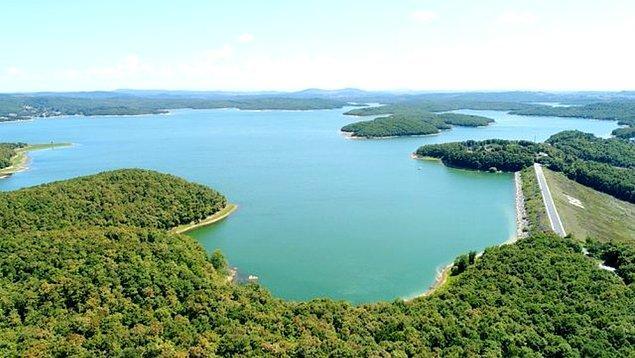 Su miktarı bugün itibarıyla 501.57 milyon metreküp