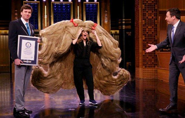 3. Dünyanın en geniş peruğu
