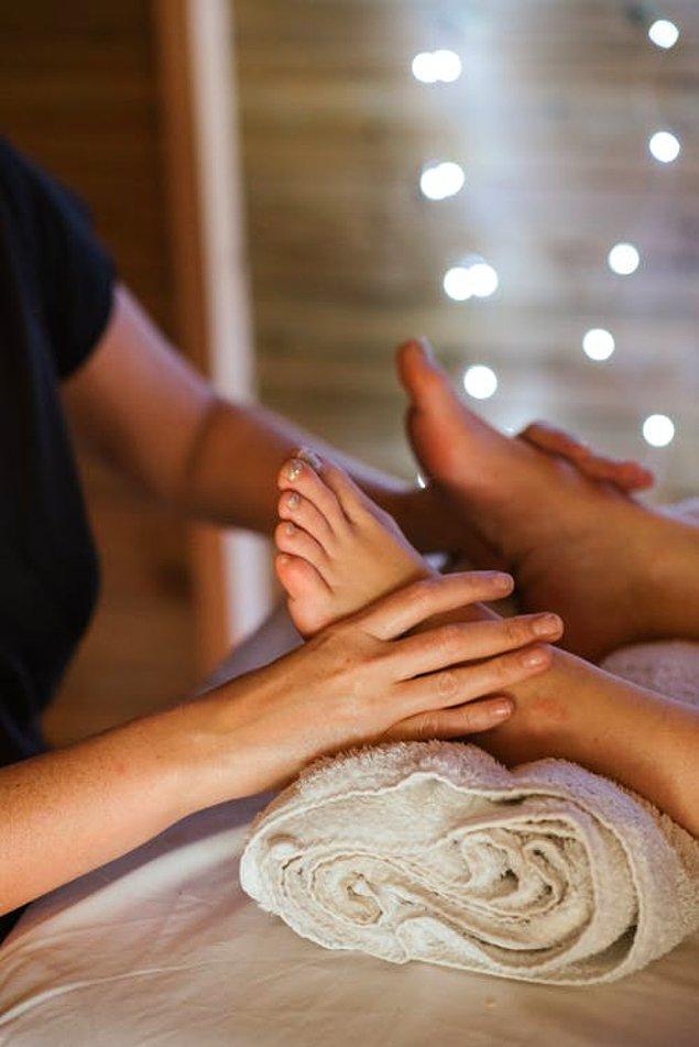 6. Refleksoloji Masajı
