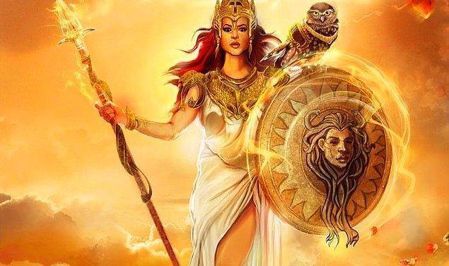 Savaş ve Bilgelik Tanrıçası!