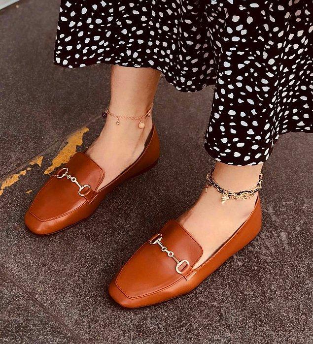 1. Babet ayakkabı.