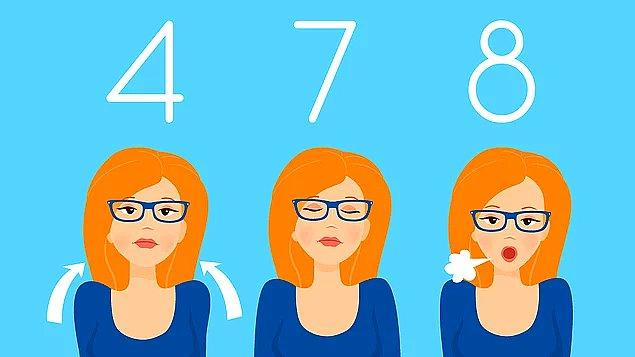 4-7-8 huzursuzluk duygusuna ve uyku sorununa iyi gelen egzersiz!