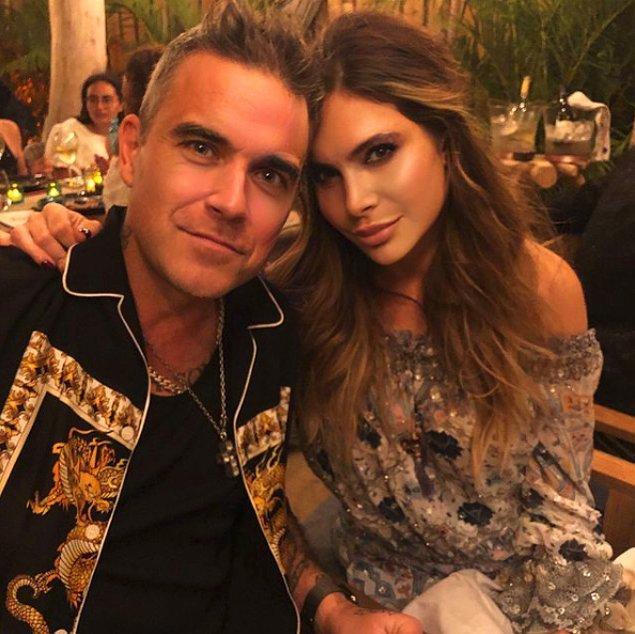 Şarkıları ile tüm dünyaya adını duyuran Robbie Williams'ı belki duymuşsunuzdur...