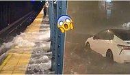Su Baskınları Yaşanan New York'taki Durumun Ne Kadar Ciddi Olduğunu Gözler Önüne Seren 18 Paylaşım