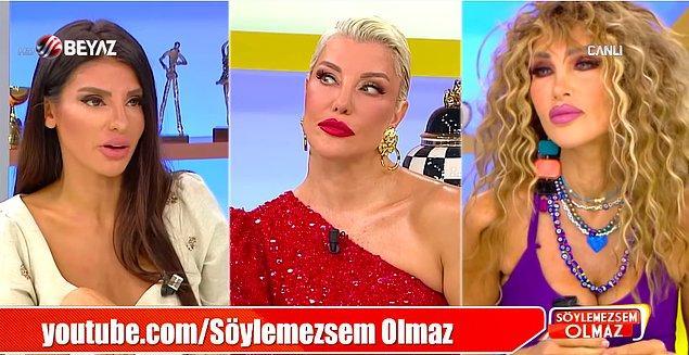 """Hapisten çıkar çıkmaza Söylemezsem Olmaz'daki magazinciliğine devam eden Deniz Akkaya Hadise ile ilgili """"Reza Zarrab'tan hamile kaldı. İlişki bu yüzden bitti."""" açıklaması yaptı!"""