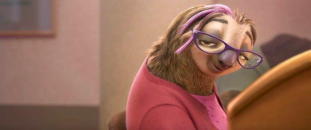 4. Oyuncu Kristen Bell'in tembel hayvan sevgisi nedeniyle 'Zootopia' yapımcısı Disney, oyuncudan tembel hayvan karakterini seslendirmesini istemiş. Karakterin repliği yalnızca iki kelimeden oluşuyor.
