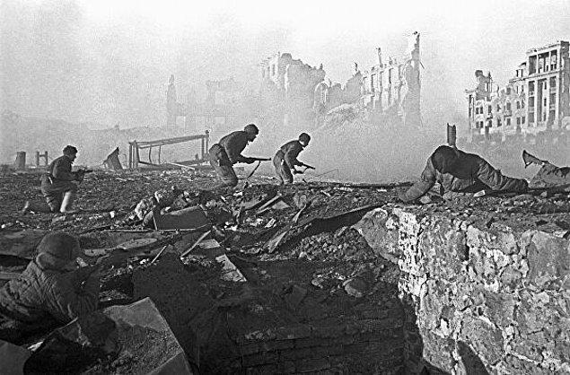 4. Almanlar Stalingrad Savaşı'nı kazansaydı