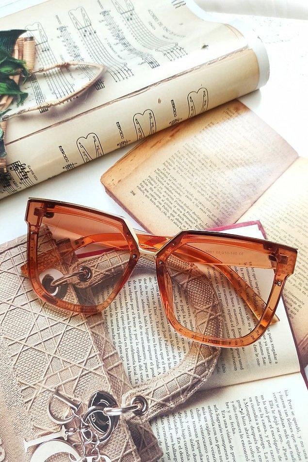 8. Tam bir sonbahar gözlüğü!