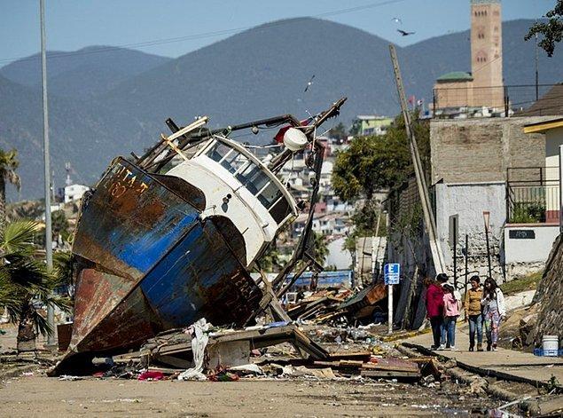 8. Şili Depremi