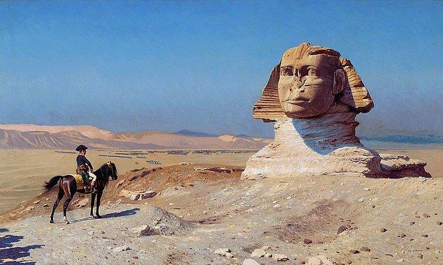 Napolyon'un seferinden sonra Mısır, Batı dünyasına açılmaya başladı.