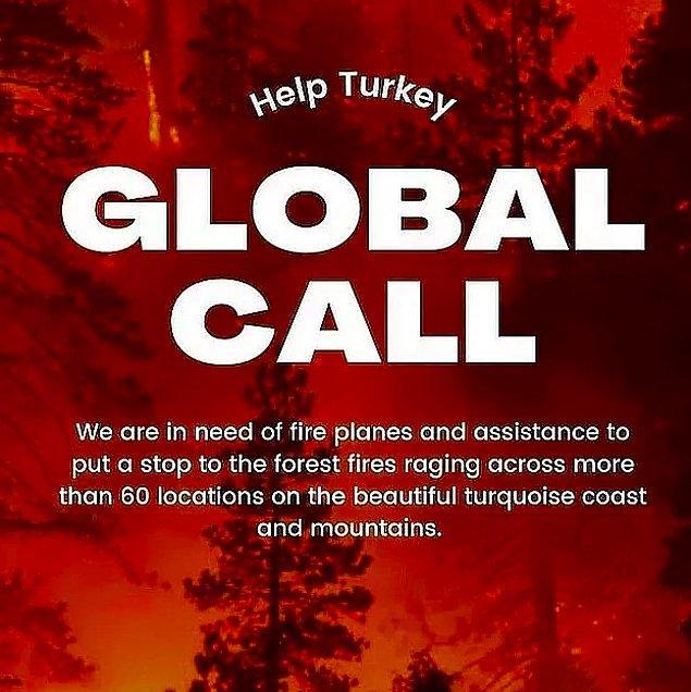 Öyle ki tüm dünyadan yardım istemek zorunda kalmıştık... Çünkü 1 adet yangın söndürme uçağımız vardı!