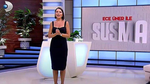 Fragmanının yayınlanmasından itibaren eleştirilerin hedefi olan Ece Ünler ile Susma programı, şu sıralar istifalarla sarsılıyor!