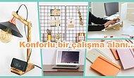 Çalışma Masanızı Düzenliyoruz! Şık ve Kullanışlı 12 Ofis Ürünü