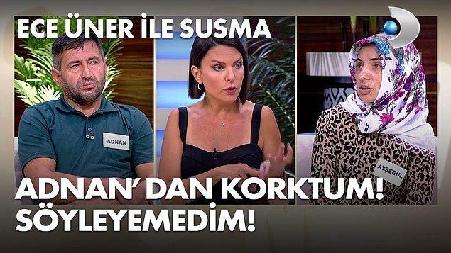 Medyatava'nın haberine göre Ece Üner'in 'Susma' ekibinde çalışan 7 gazeteci, olayların manipüle edildiğini, reyting uğruna çarpıtıldığını iddia ederek program ekibinden istifa etti.