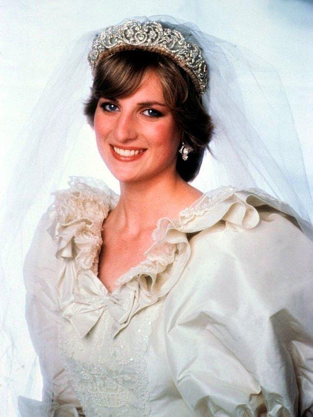 2. Prenses Diana'nın gelin tacı