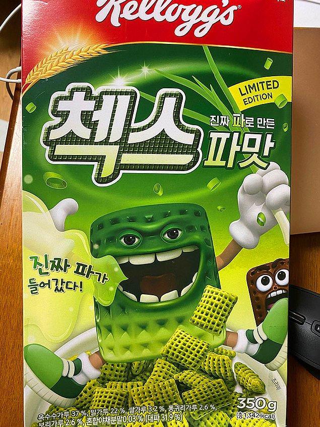 21. Soğan aromalı gevreği Güney Kore'den başka nerde bulabilirdiniz ki?..