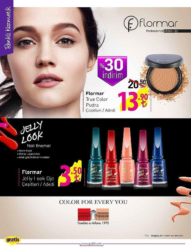 Kadınların en çok şikayetçi olduğu artan kozmetik ürünü fiyatı oje. Bu ojenin şu anki fiyatı raflarda 13 TL.