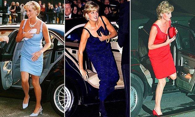 4. Prenses Diana'nın 'dekolte çantaları'