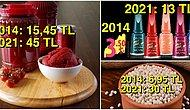 2014 Yılında Aldığımız Ürünlerin Bugünkü Fiyatlarını Gördüğünüz An Gözünüzden Yaşlar Akacak