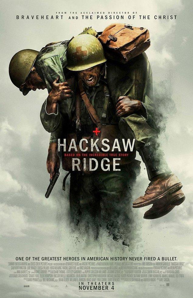 4. Hacksaw Ridge / Savaş Vadisi (2016) - IMDb: 8.1