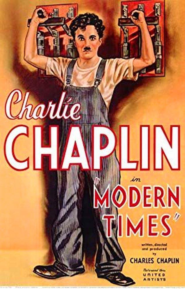 1. Modern Times / Modern Zamanlar (1936) - IMDb: 8.5