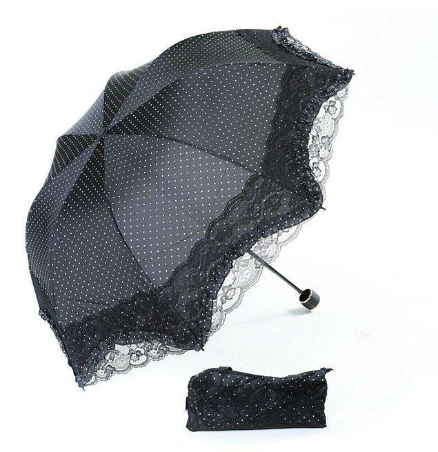 8. Fransız model şemsiyenin asaleti...