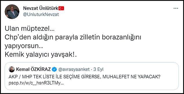 Özkiraz'ın MHP'li isimlerle yaşadıkları Twitter paylaşımlarına böyle yansıdı. 👇