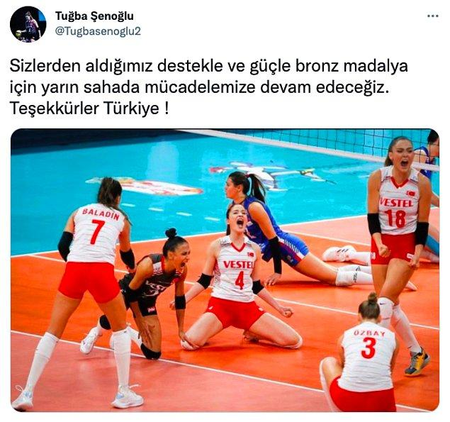 2. Sizinle gurur duyuyoruz kızlar ❤️