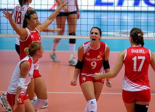 8. 2011- Avrupa Şampiyonası Üçüncülüğü 🥉