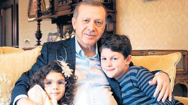 Acaba Cumhurbaşkanı Erdoğan'ın artık emekli olup torunlarıyla ''şakalaşma'' dönemi mi geldi?