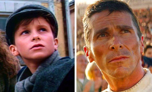 11. Christian Bale: Anastasia: The Mystery of Anna (1986) — Ford v Ferrari (2019)