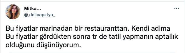 Bu arkadaşımız Yunanistan'daki bir işletmenin menüsünü paylaştı sosyal medya hesabından.