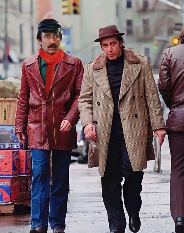 13. Al Pacino'ya çay yok.