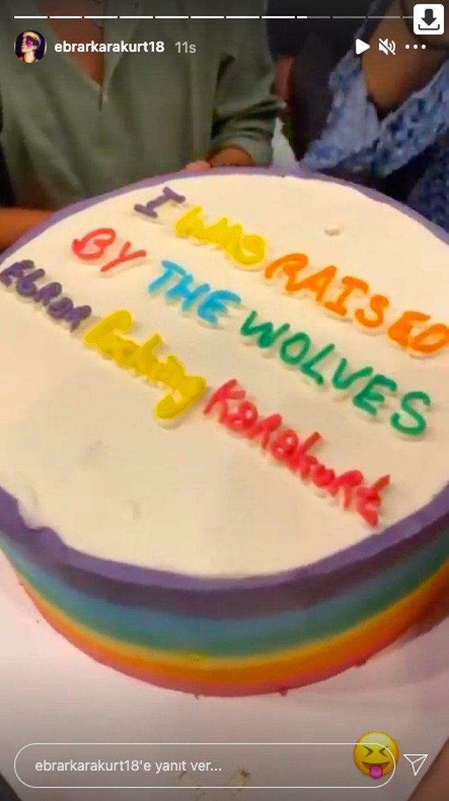 Şu pastanın güzelliği peki? 😂