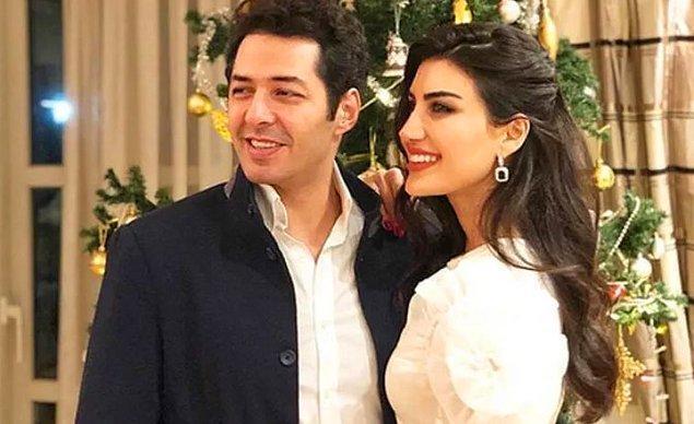 Mert Fırat ve eşi İdil Fırat, yaklaşık 4 ay flört dönemi geçirdikten sonra 2018'in Temmuz ayında nişanlanmıştı.
