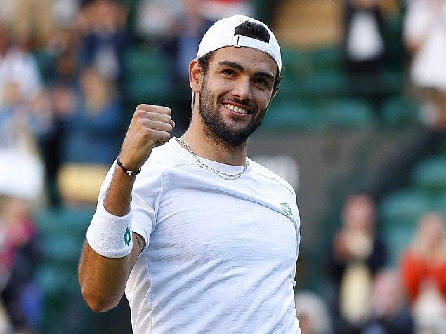 3. Wimbledon finalisti Matteo Berrettini 🥈