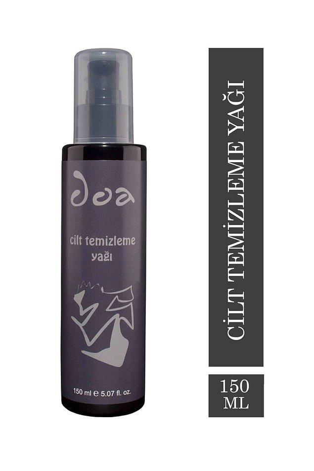 13. Doa Kozmetik cilt temizleme yağı, cildinizdeki güneş kremi gibi kremlerle, makyaj ve makyaj kalıntılarını nazikçe temizler.