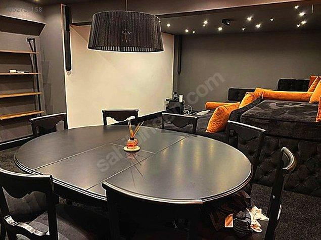 Evin kullanım alanı brüt 140 m2 ve 2+1. Gerçekten 2 oda 1 salon eve anca bu kadar hayal dünyası sığdırılabilirdi :)