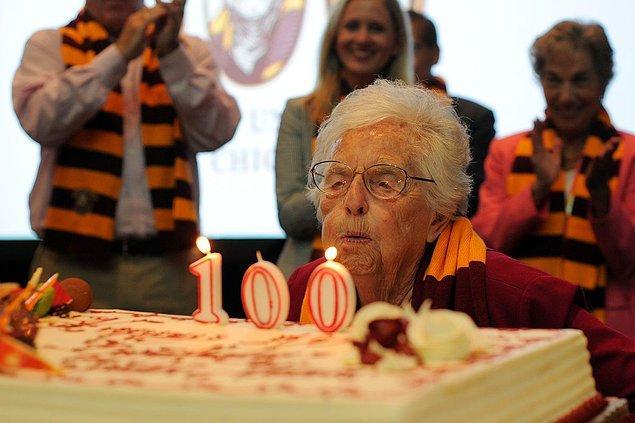 90-100 yaşına kadar yaşayabilirsin!