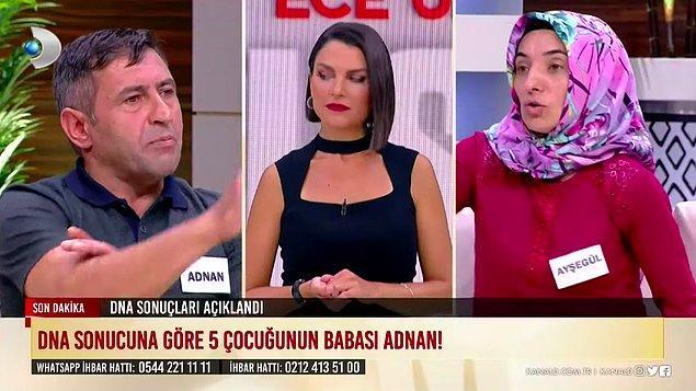 Bu gelişmenin ardından da Ayşegül, Adnan'ın şiddet uygulayarak zorla miras nedeniyle 2 çocuğunun babasından olduğunu söylettiğini iddia etti.