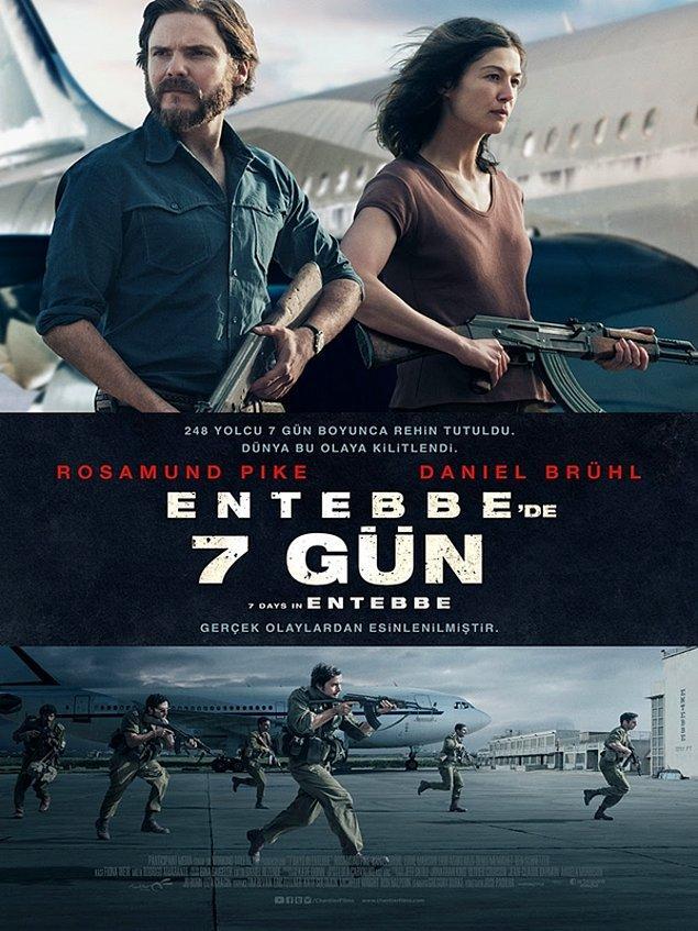 15. 7 Days in Entebbe / Entebbe'de 7 Gün (2018) IMDb: 5.8