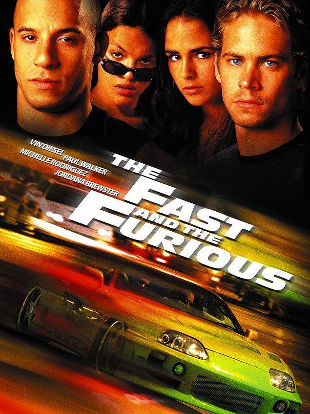 7. Fast & Furious / Hızlı ve Öfkeli (2001) IMDb: 6,8