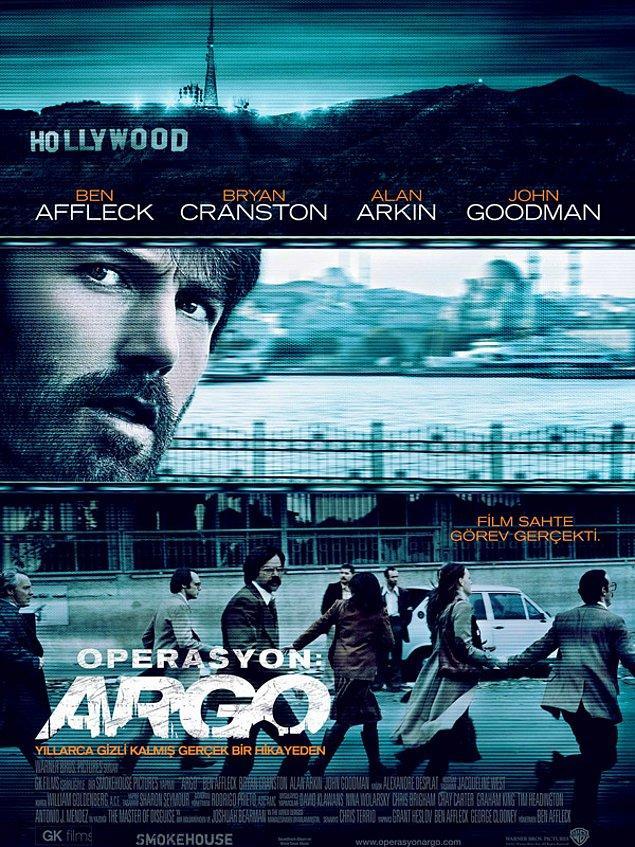 4. Argo / Operasyon: Argo (2012) IMDb: 7.7