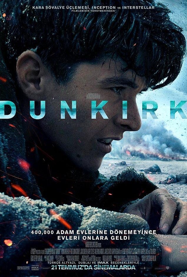 2. Dunkirk (2017) IMDb: 7.8