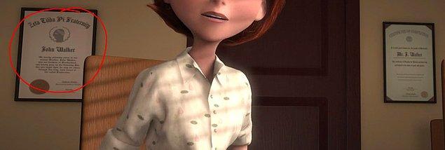 7. İnanılmaz Aile (2007) yapımcısı John Walker, aynı zamanda filmdeki müdürün adı.