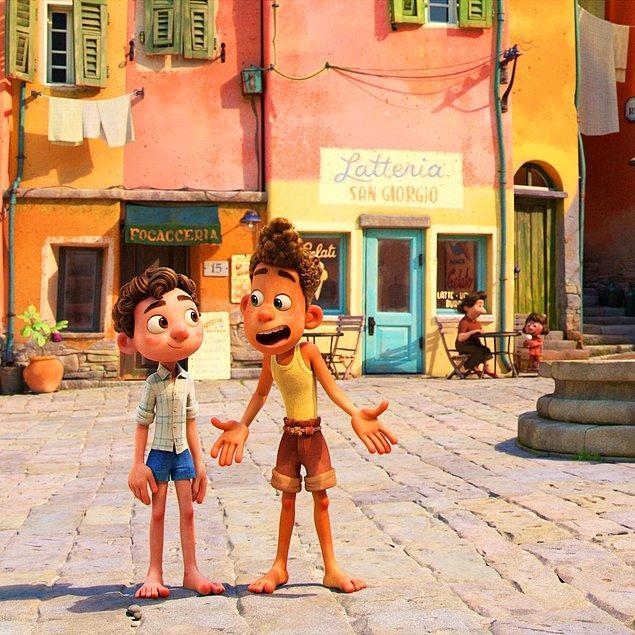10. Luca filmindeki iki karakterin de adı, İtalyanca balık adıdır.