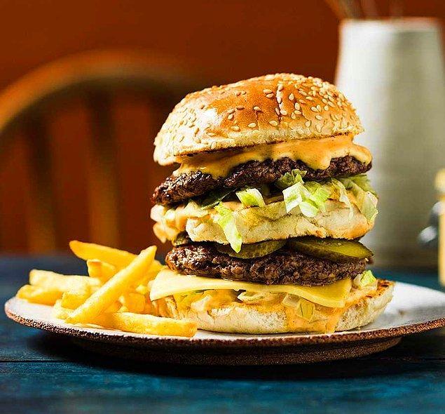 Double cheeseburger: 8 dakika 8 saniye
