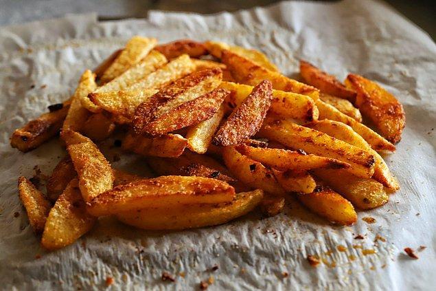 9. Patatesleri daha sağlıklı ve daha lezzetli hale getirmek mümkün!