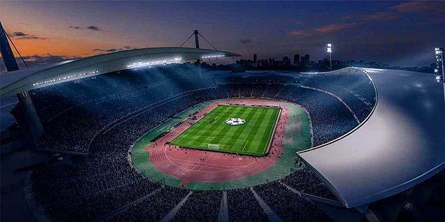 Türkiye'den de stadyum var.