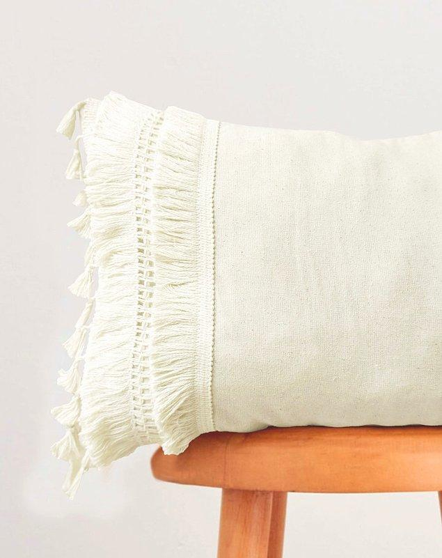 Şık ve bir o kadar bohem yastık kılıfı modelleri için; 👇